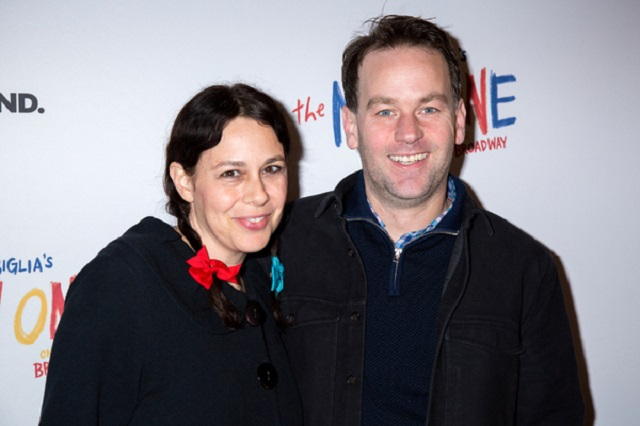 Jen Stein and Mike Birbiglia