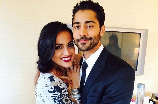 Manish Dayal and Snehal Patel