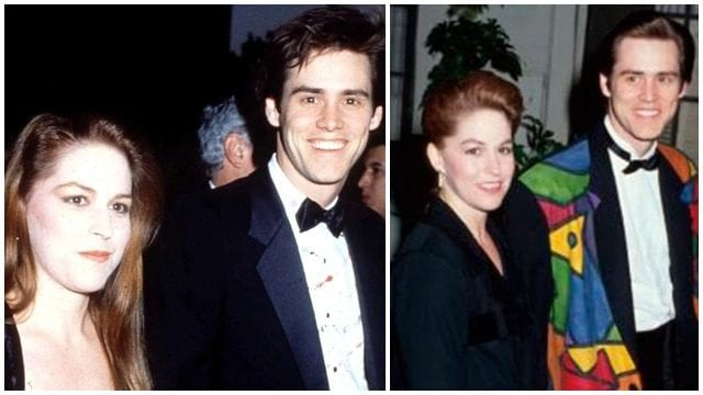 Melissa Womer and Jim Carrey