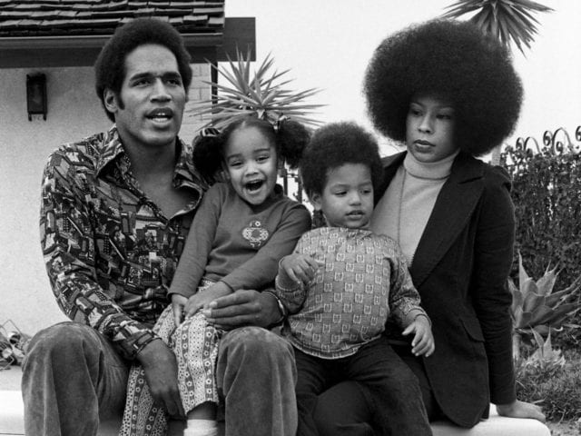 O. J. Simpson, Marguerite L. Whitley and kids