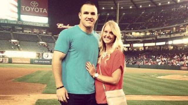 Jessica Cox and Mike Trout