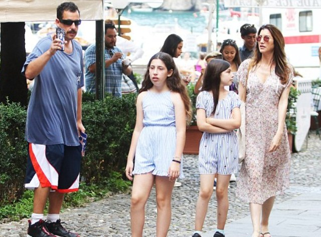 Adam Sandler's Kids - Sunny Madeline, Sadie, And Family ...