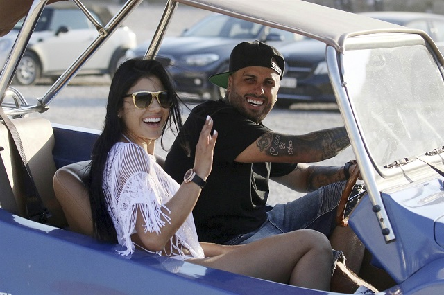 Nicky Jam and his wife Angelica Cruz