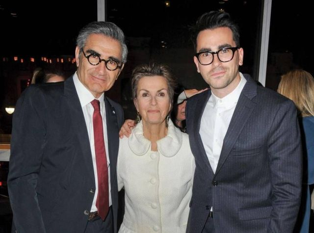 Daniel Levy and his parents