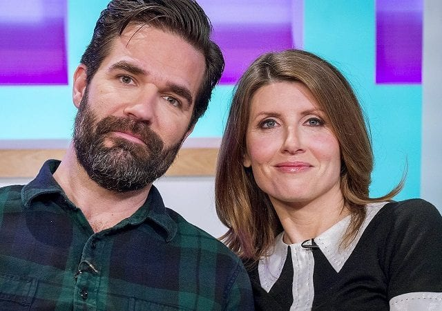 Sharon Horgan and Rob Delaney