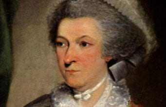 Abigail Adams, the late first lady