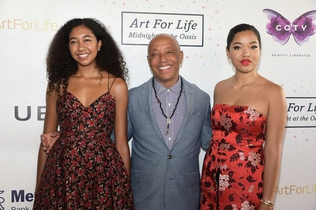 Russell Simmons Daughters