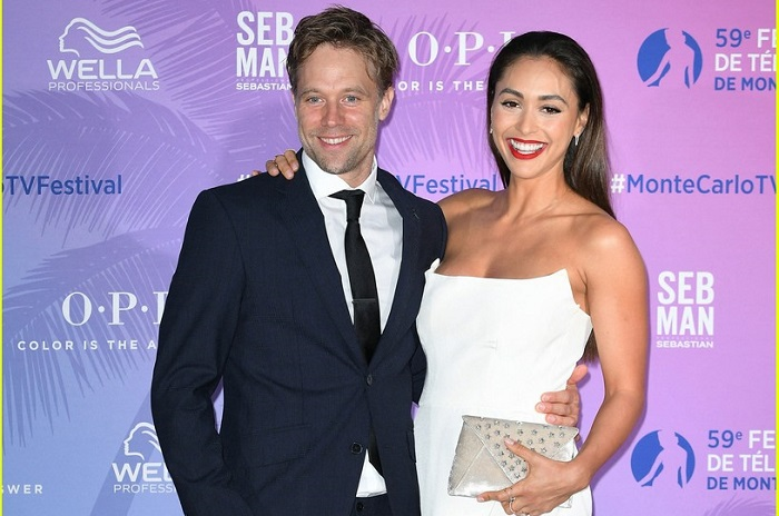 Lindsey Morgan and Shaun Sipos