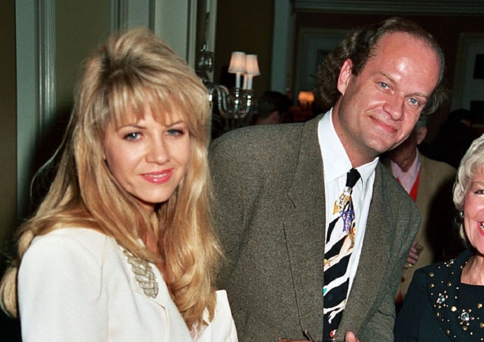 Kelsey Grammer and Leigh-Anne Csuhany