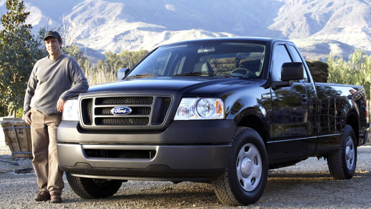 'Dirty Jobs' Star Mike Rowe with 2007 Ford F150