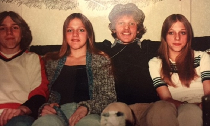 David, Denise, Ronnie and Lori Miscavige in 1975