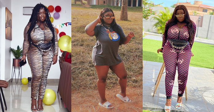 Ghanaian Actresses Curvy Figure