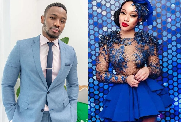 Thando Thabethe and Lunga Shabalala
