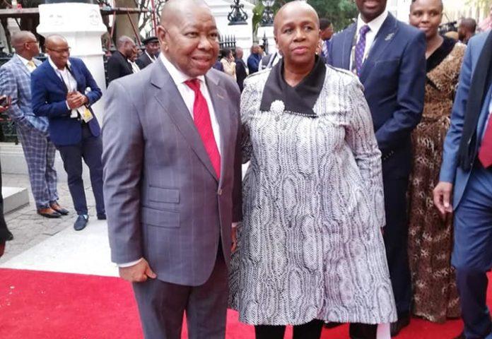 Blade Nzimande's family life